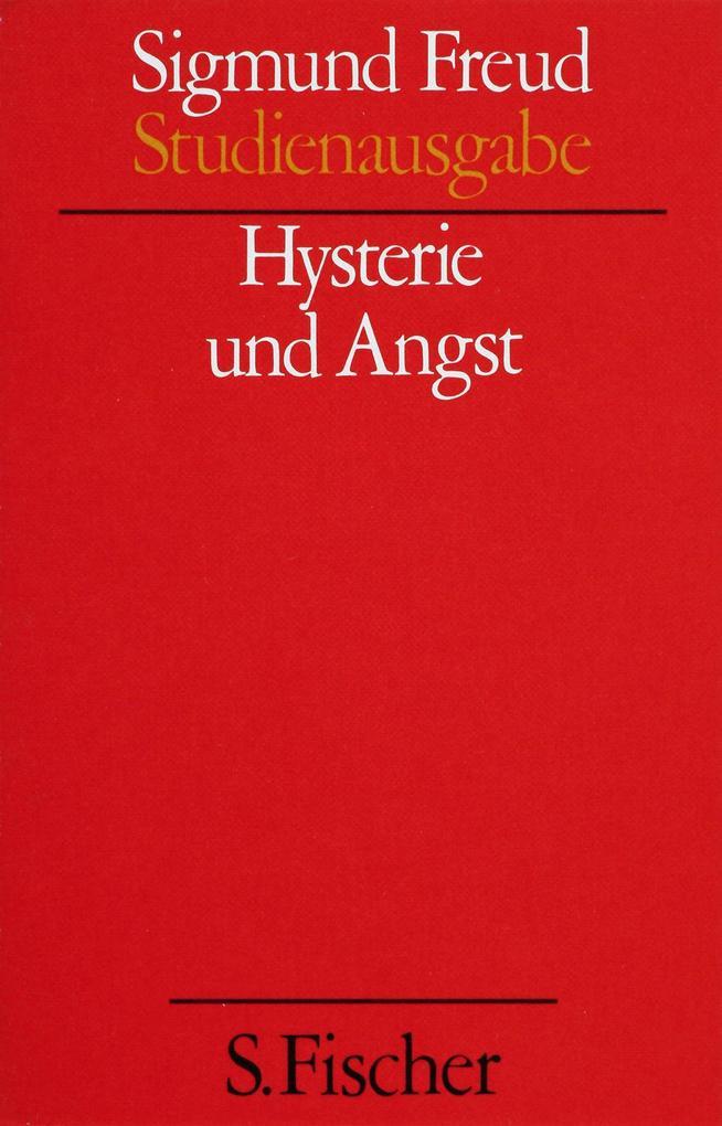 Hysterie und Angst als Buch
