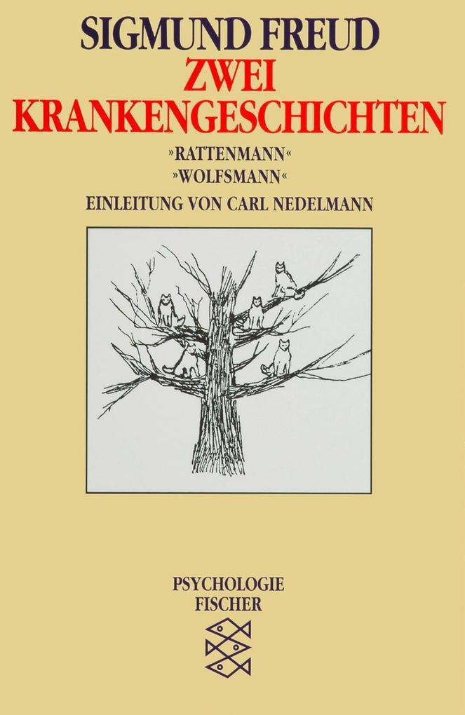 Zwei Krankengeschichten. Rattenmann / Wolfsmann als Taschenbuch