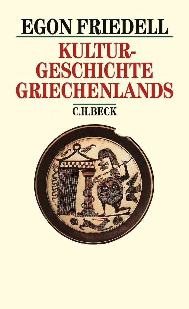 Kulturgeschichte Griechenlands als Buch