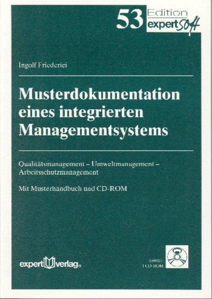 Musterdokumentation eines integrierten Managementsystems als Buch
