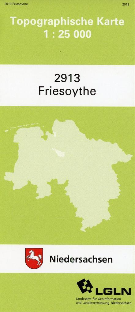 Friesoythe 1 : 25 000. (TK 2913/N) als Buch