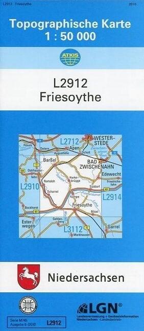 Friesoythe 1 : 50 000 als Buch