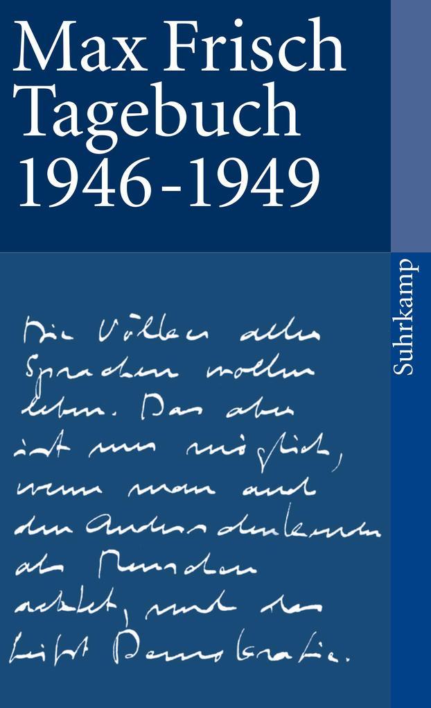 Tagebuch 1946-1949 als Taschenbuch