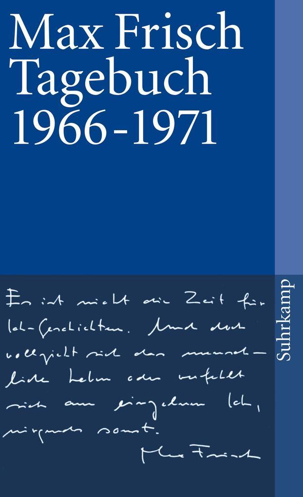 Tagebuch 1966-1971 als Taschenbuch