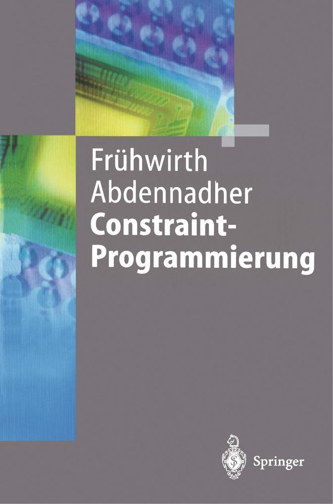 Constraint-Programmierung als Buch