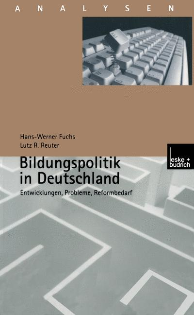 Bildungspolitik in Deutschland als Buch