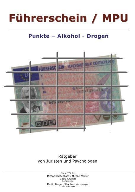 Führerschein / MPU als Buch