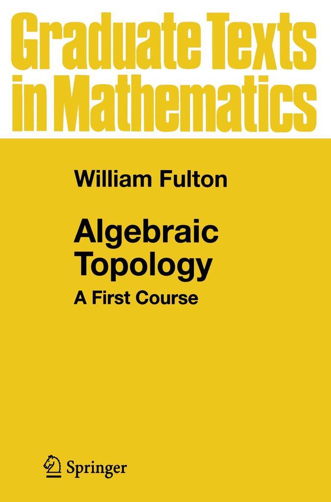 Algebraic Topology als Buch