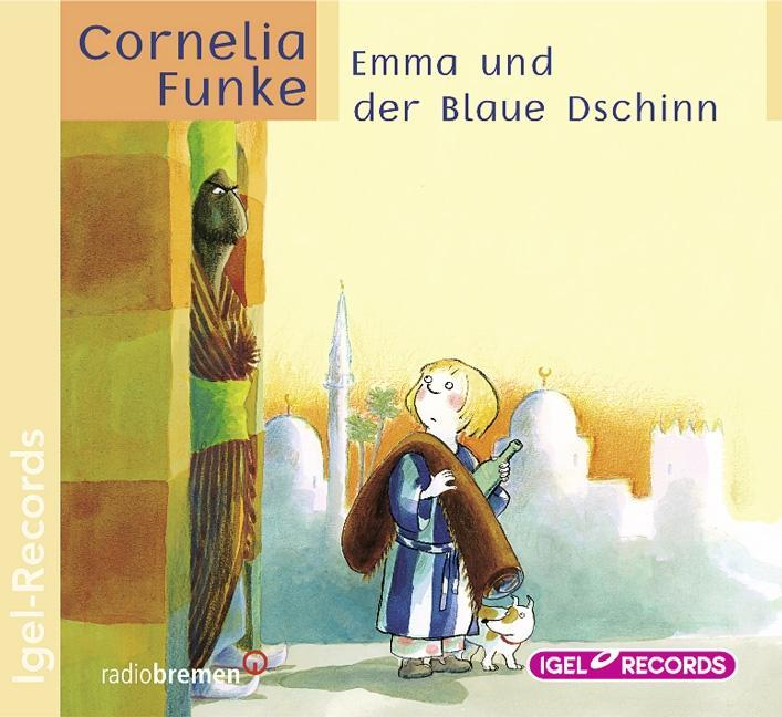 Emma und der blaue Dschinn. CD als Hörbuch