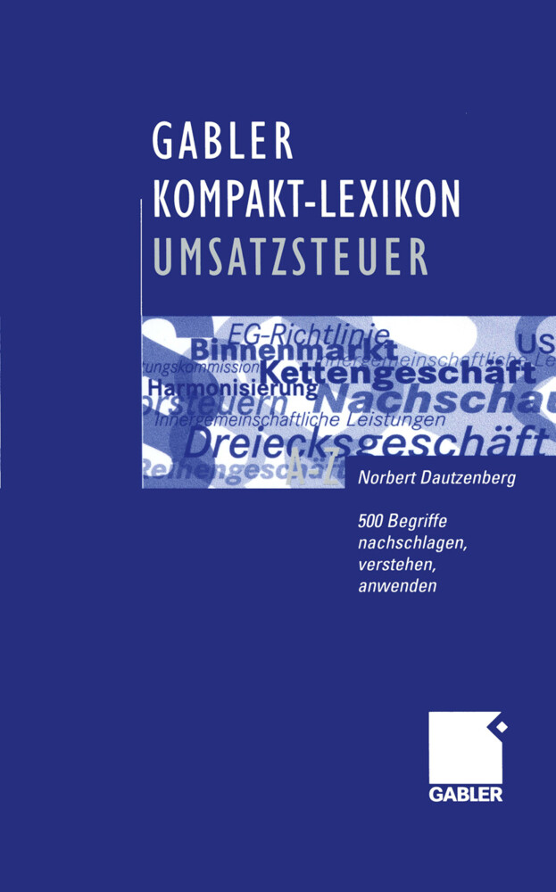 Gabler Kompakt-Lexikon Umsatzsteuer als Buch