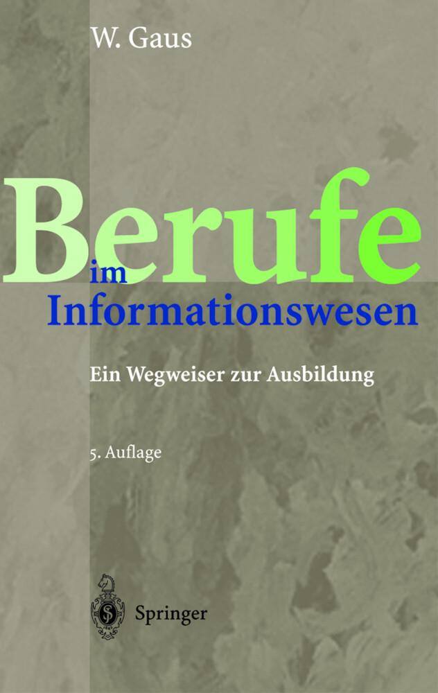 Berufe im Informationswesen als Buch