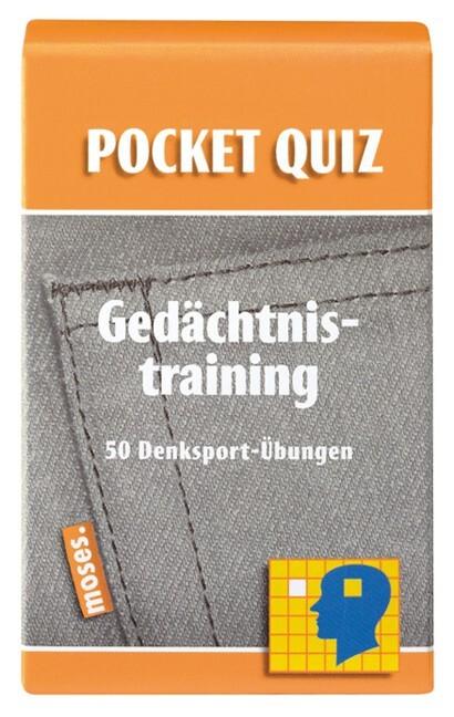 Gedächtnistraining. Pocket Quiz als Buch