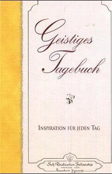 Geistiges Tagebuch als Buch