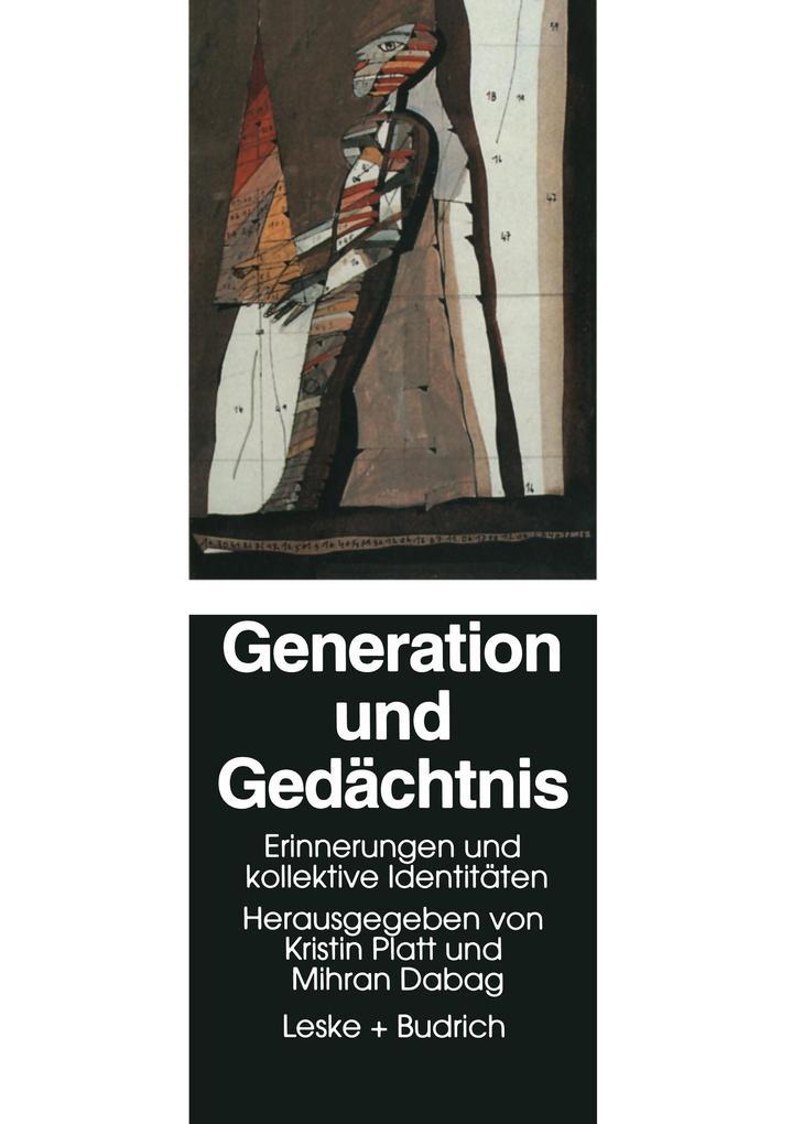 Generation und Gedächtnis als Buch