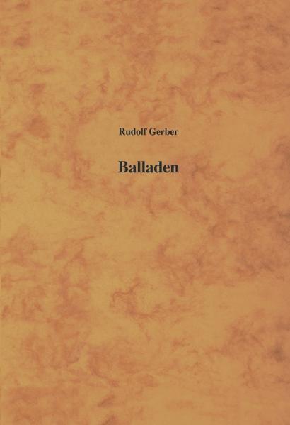 Balladen als Buch