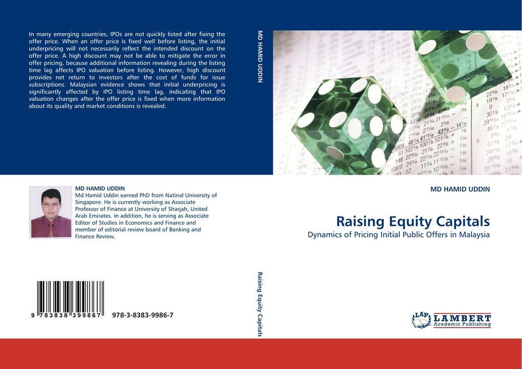 Raising Equity Capitals als Buch von MD HAMID UDDIN - LAP Lambert Acad. Publ.