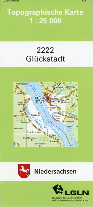 Glückstadt 1 : 25 000 als Buch