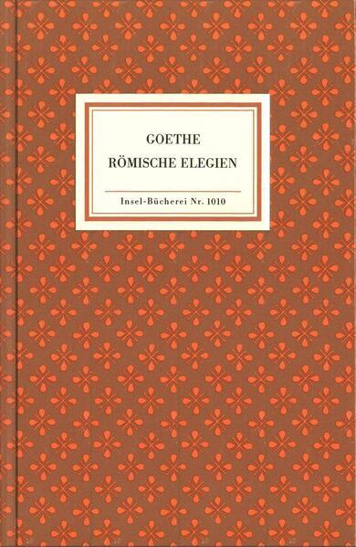 Römische Elegien als Buch