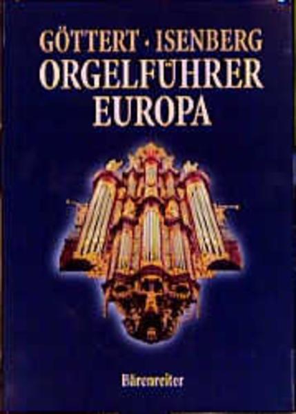 Orgelführer Europa als Buch
