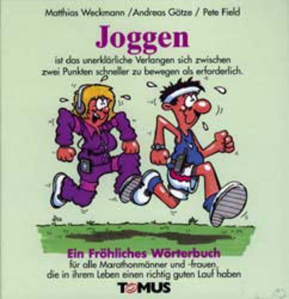 Joggen. Ein fröhliches Wörterbuch als Buch