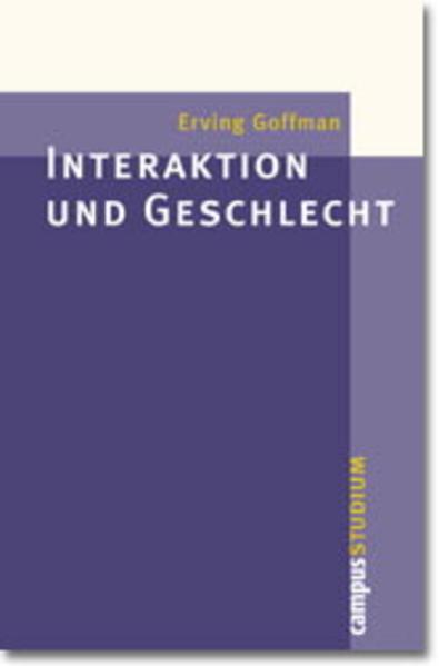 Interaktion und Geschlecht als Buch