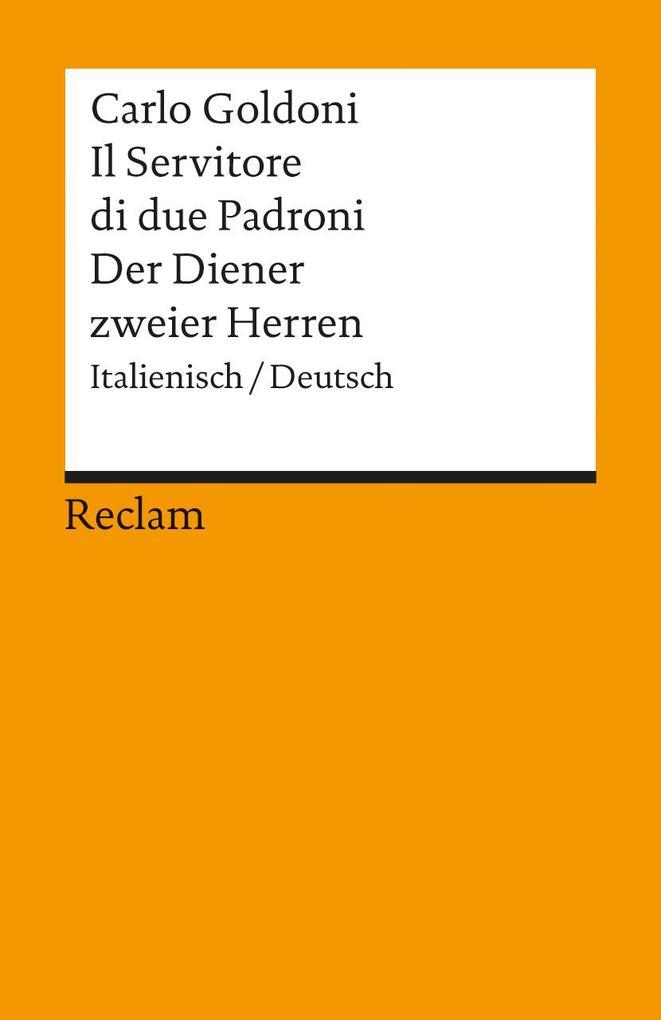 Der Diener zweier Herren / Il Servitore di due Padroni als Taschenbuch