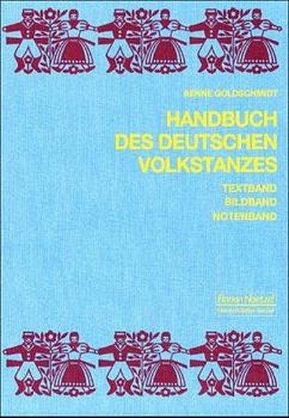 Handbuch des deutschen Volkstanzes als Buch