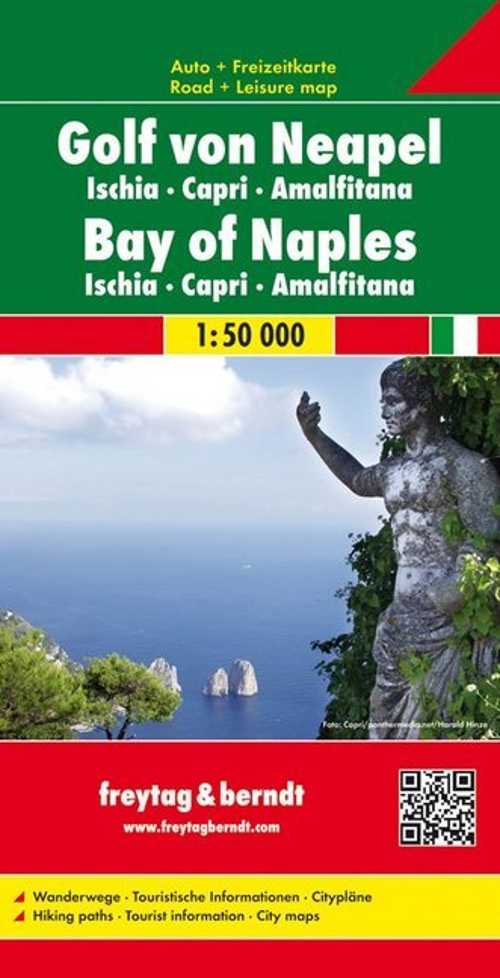 Golf von Neapel - Ischia - Capri - Amalfitana 1 : 50 000 Autokarte als Buch
