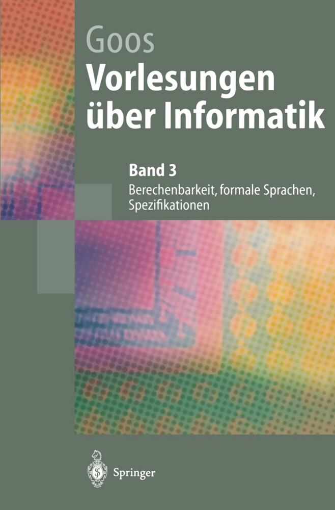 Vorlesungen über Informatik als Buch