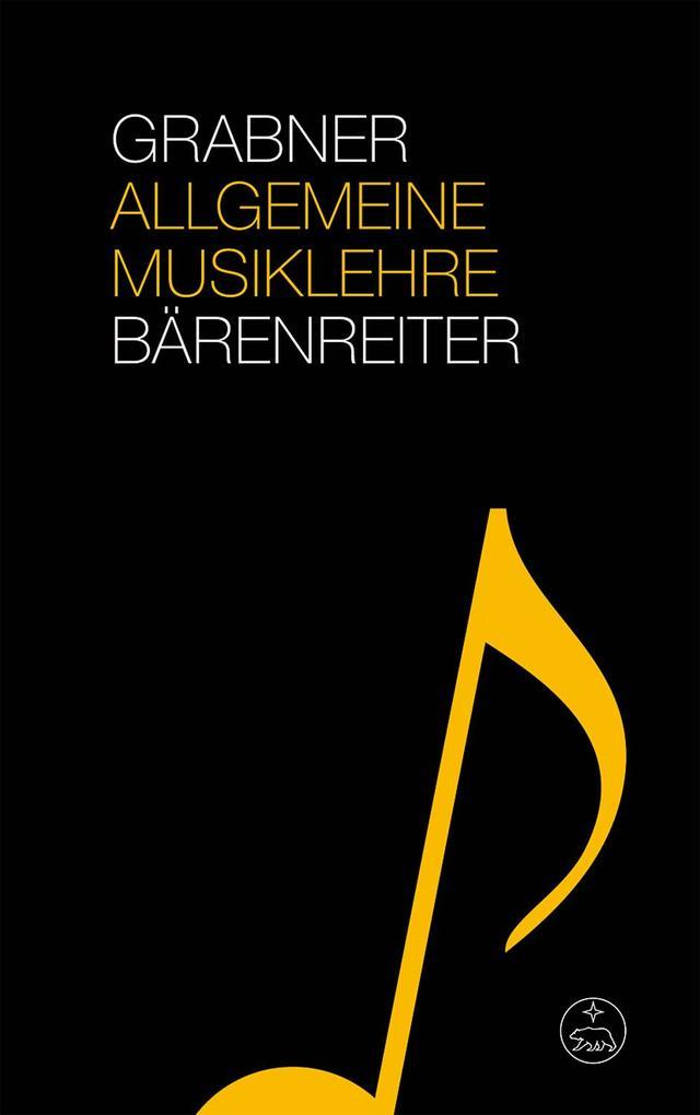 Allgemeine Musiklehre als Buch