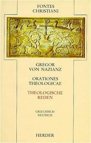 Orationes theologicae = Theologische Reden als Buch