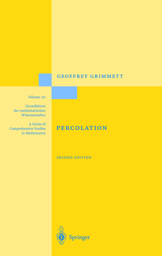 Percolation als Buch