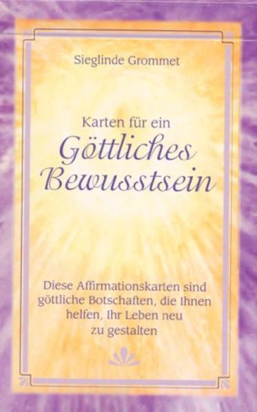 Karten für ein göttliches Bewußtsein als Buch