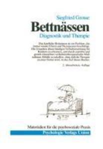 Bettnässen, Diagnostik und Therapie als Buch