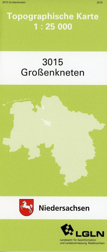 Großenkneten 1 : 25 000. (TK 3015/N) als Buch