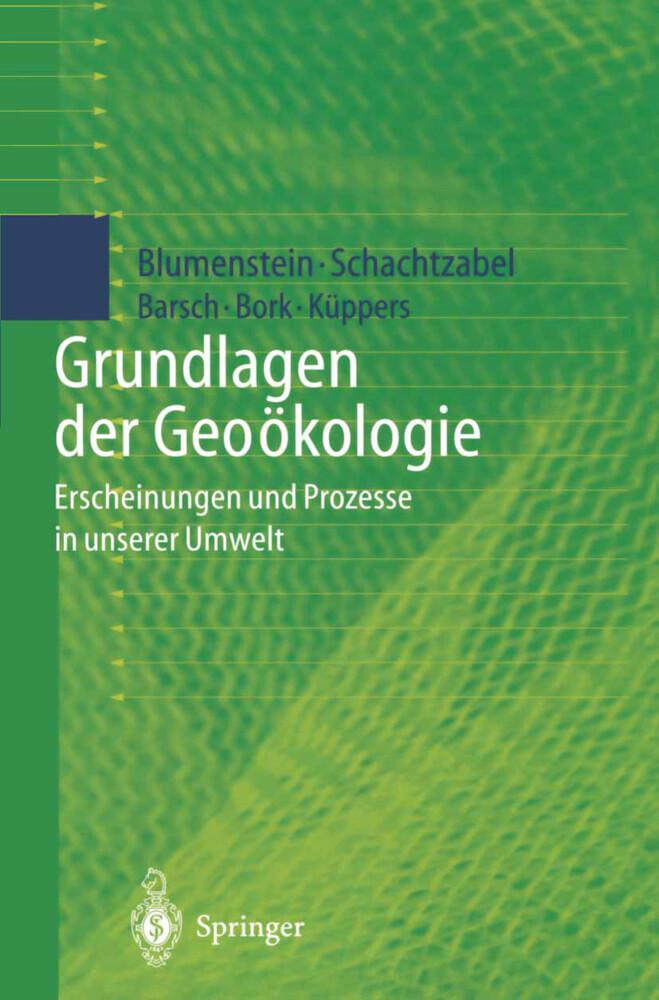 Grundlagen der Geoökologie als Buch