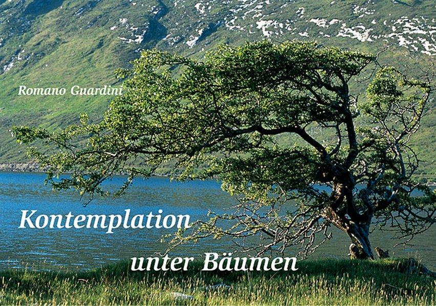 Kontemplation unter Bäumen als Buch