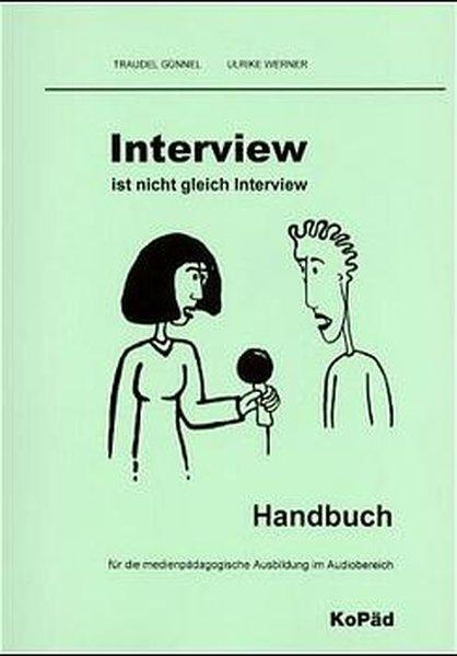 Interview ist nicht Interview. Inkl. CD als Buch