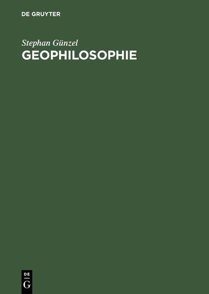 Geophilosophie als Buch