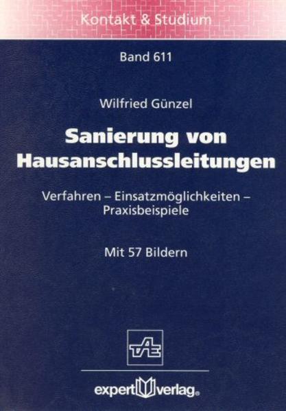 Sanierung von Hausanschlussleitungen als Buch