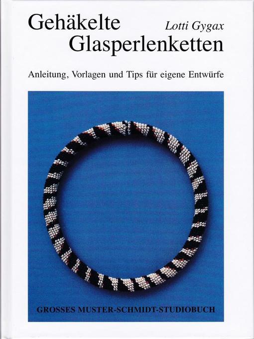 Gehäkelte Glasperlenketten als Buch