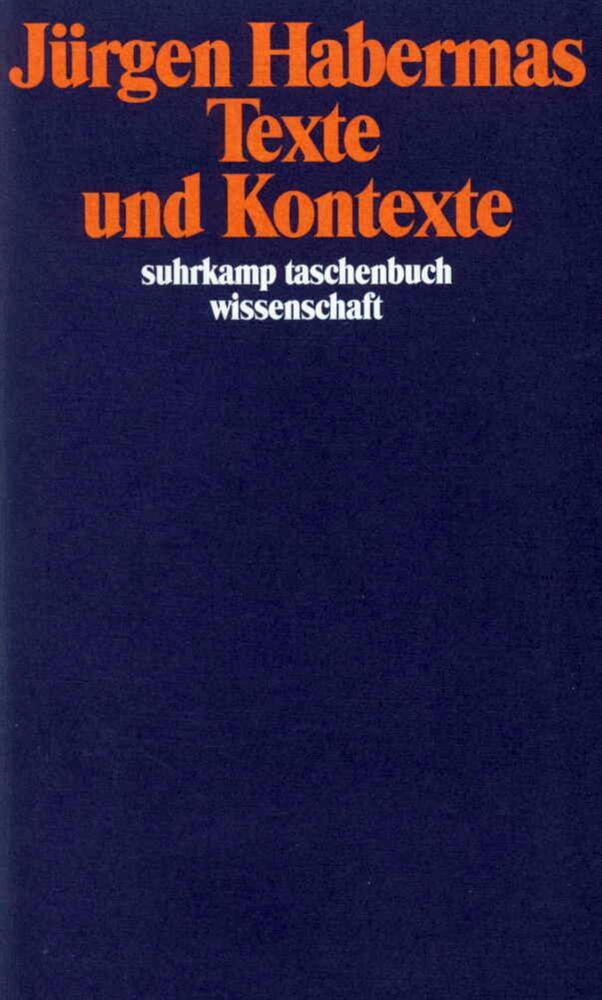 Texte und Kontexte als Taschenbuch