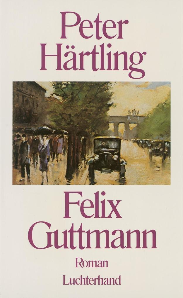 Felix Guttmann als Buch