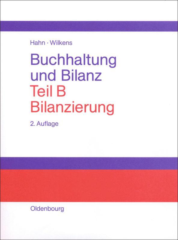 Bilanzierung als Buch (gebunden)