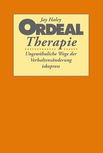 Ordeal Therapie als Buch