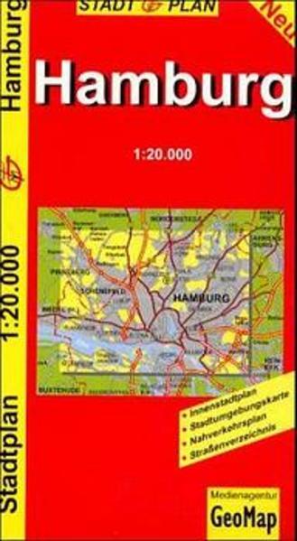 Hamburg - Stadtplan als Spielwaren