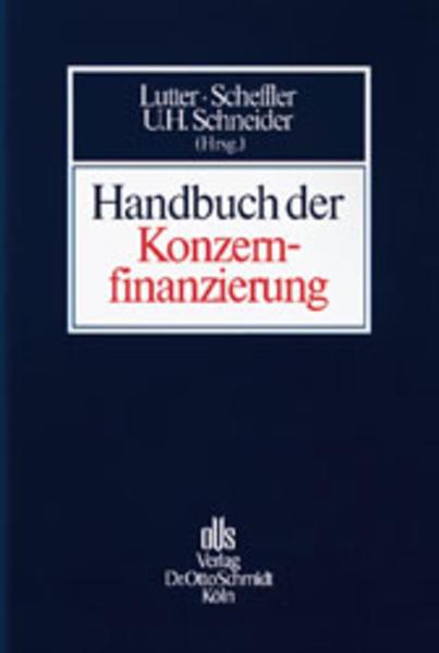 Handbuch der Konzernfinanzierung als Buch