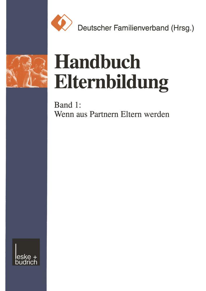 Handbuch Elternbildung als Buch