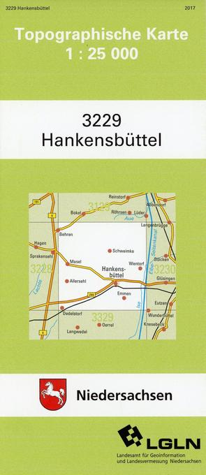 Hankensbüttel 1 : 25 000. (TK 3229/N) als Buch