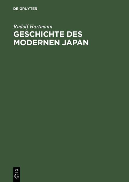 Geschichte des modernen Japan als Buch